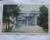Vintage Post Card Pergola on the Paseo, Kansas City, Missouri 1920s