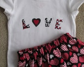 Valentines Love and Heart Outfit