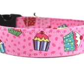 Multicolored Dog Collar - The Cupcakes