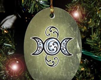 Triple Moon, Yule Ornament