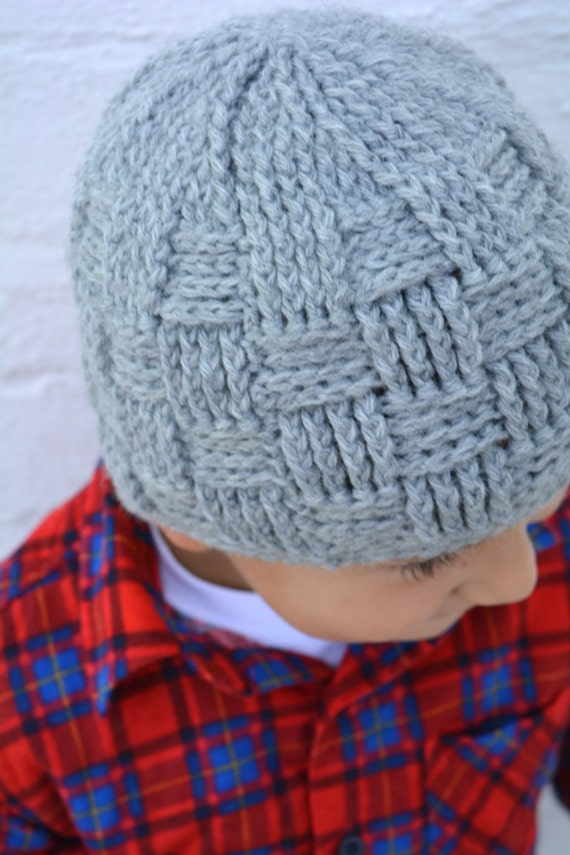 Boys Hat Crochet Pattern in Babies Toddler Kids and Mens Sizes