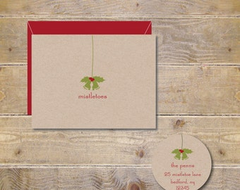 Christmas Cards, Holiday Cards, Birth Announcements, Mistletoe, Baby Announcements, New Baby, Baby Thank You Cards, Baby