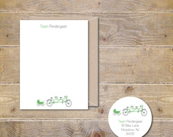 Tandem Bike, Baby Thank You Cards, New Baby Cards, Baby Announcements, Baby Shower Thank You Cards, Pram, Baby Carriage