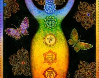 Chakra Kanti - Rainbow Chakra Goddess