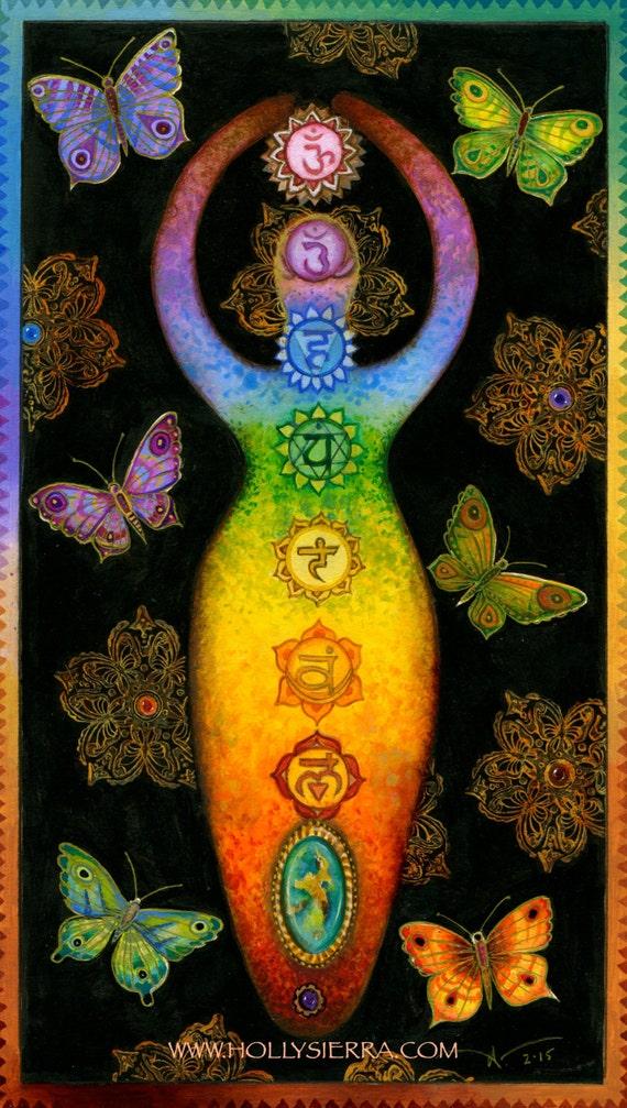 Chakra Kanti Rainbow Chakra Goddess