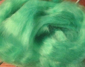 Key Lime Mohair Top Roving