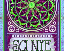 String Cheese Incident Poster - Broomfield, CO NYE 2014