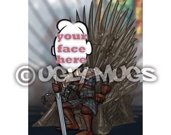 Custom Game Of Thrones Sword Chair Joffrey Caricature