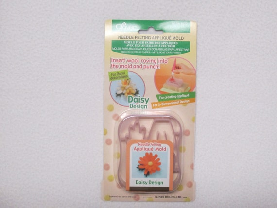 Clover Needle Felting Mold Daisy Part No 8923 From