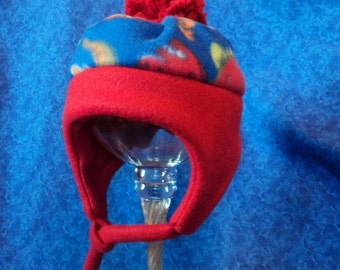 Fleece Baby Boy Hats with Dinosaurs Winter and Warm 12-18 months