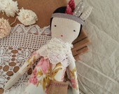 Cloth Doll - Ivy by moose & bird