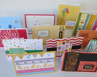 Year Of Cards Monthly Card Set Of 12