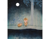 Goodnight and Sweet Dreams - art print