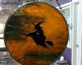Orange Bewitched Suncatcher