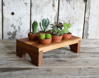 Aldermere Tray made from reclaimed antique Cypress by Peg and Awl