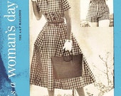 Vintage 1950s Dress Sewing Pattern - Woman's Day 5072 - Misses' Jacket, Halter Collar, Circle Skirt & Strapless Playsuit - SZ 14/Bust 32