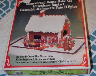 Gingerbread House Bake Set Complete and then some with instructions