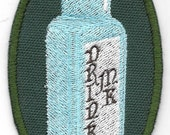 Alice in Wonderland Drink Me Patch