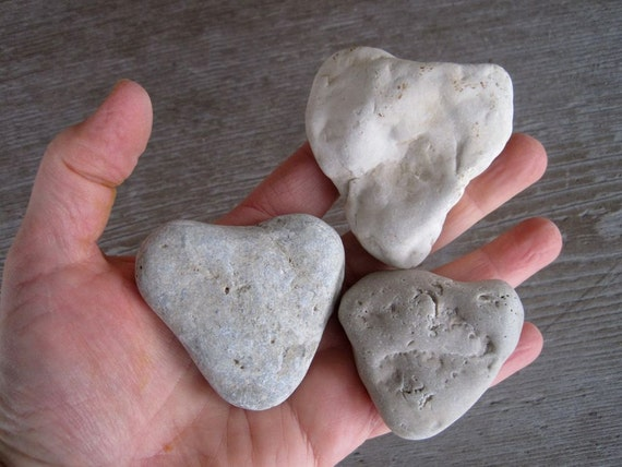 Stone Hearts Instant Collection - Heart Shaped Stones - Natural Heart Rocks