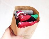 Christmas Leg Warmers Bundle-- Crawler Socks