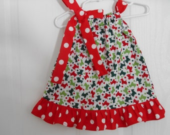 Pillowcase Cow Print Dress With Your Choice Of By