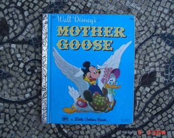 Walt Disney's Mother Goose - a Little Golden Book  #D79 - 1977