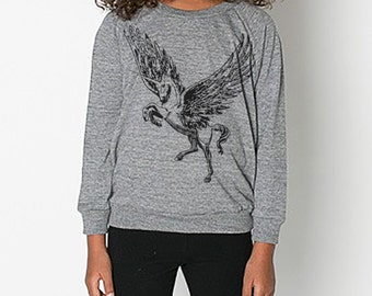 KIDS -Pegacorn Raglan - Long Sleeved Shirt