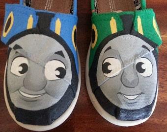 KOOAK Kustoms Thomas the Train Inspired Toms Flats for Kids