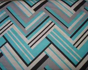 Virginia in Aqua color Fabric  by Michael Miller  - 1 Yard
