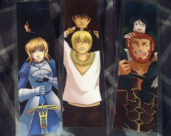Fate/Zero Bookmark Set