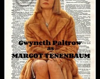 Margot Tenenbaum The Royal Tenenbaums Dictionary Art Print