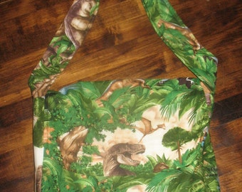 Dinosaur Adventure Messenger Bag with Free Shipping