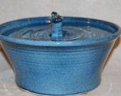 "Cat Drinking Fountain, Pet Fountain, Indoor Fountain,  Food safe, Ceramic - 10.25 Inch Diameter - ""Geyser"""