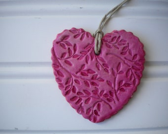 Floral Heart Ornament