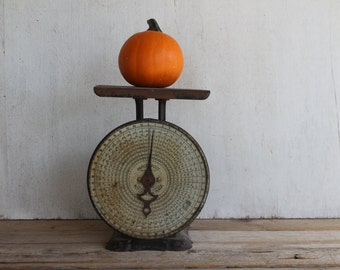 Antique Pelouze Scale, Parcel Post, In Cents By Zones