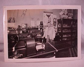 Vintage Photograph 1948 Radio Repair Shop