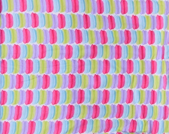 Macarons cookie print  Flannel pajama Lounge pants  dorm made to order your choice size XS - 2X