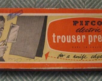 Vintage 1950's Pifco Trouser Press in pristine condition