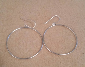 43mm Sterling Silver Earring Dangles