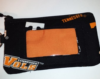 Tennessee Vols Zip ID pouch