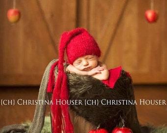 Dark Olive Green Mongolian Faux Fur Nest Photography Prop Newborn Baby Toddler Child