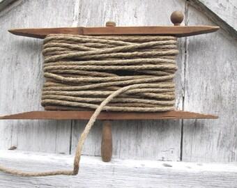 SALE Vintage Wood Winder
