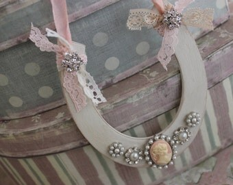 Shabby Chic Bridal Horseshoe