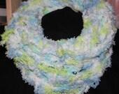 Hand Knitted Fashion Cowl / Scarf / Infinity Scarf / Circular Scarf