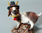 Vincent van Goatee -   Original Ceramic Goat Sculpture