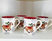 Derby Theme ceramic coffee mug