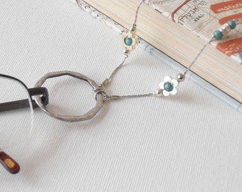 Loop Eyeglasses Chain ,Eyeglasses Holder, Sunglasses Chain,Reading Glasses,  Gift For Her, Gift For Mother. Eyeglasses Necklace,holiday gift