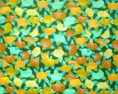 SALE : Kaffe Fassett Persimmon green GP 74 Westminster Rowan Fabrics FQ or more oop htf