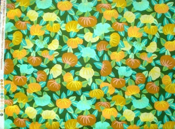 SALE : Kaffe Fassett Persimmon green GP 74 Westminster Rowan Fabrics FQ or more oop htf