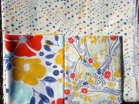 SALE : Maya Leah Duncan Anthology fabrics 3 FQ set or more Oop Htf